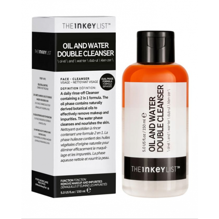 THE INKEY LIST - Oil & Water Double Cleanser
