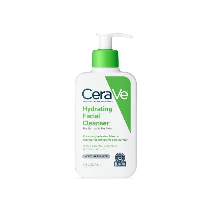 CeraVe- Hydrating Facial Cleanser FOR NORMAL TO DRY SKIN 8 fl oz