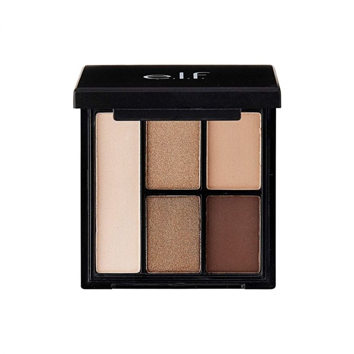 E.L.F-CLAY EYESHADOW PALETTE ( necessary nudes)
