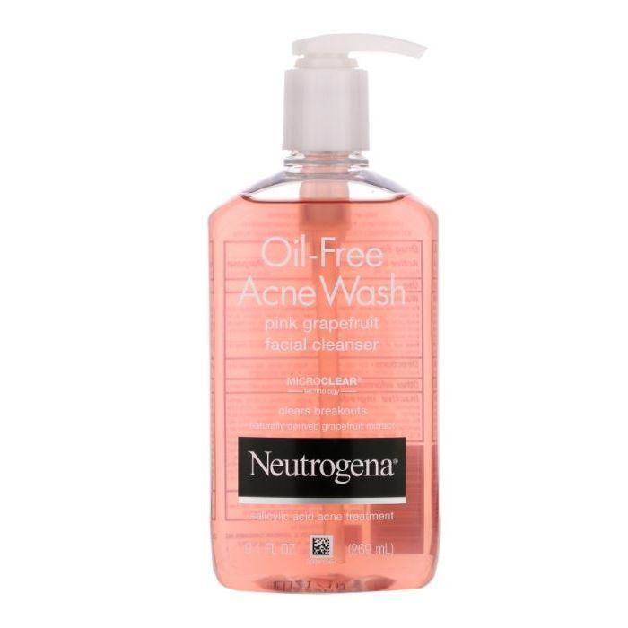 Neutrogena - Pink Grapefruit Acne Face Wash & Cleanser