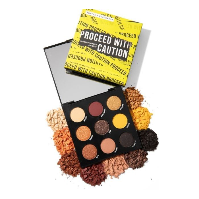 Colourpop - Proceed with Caution Pressed  Eyeshadow Palette