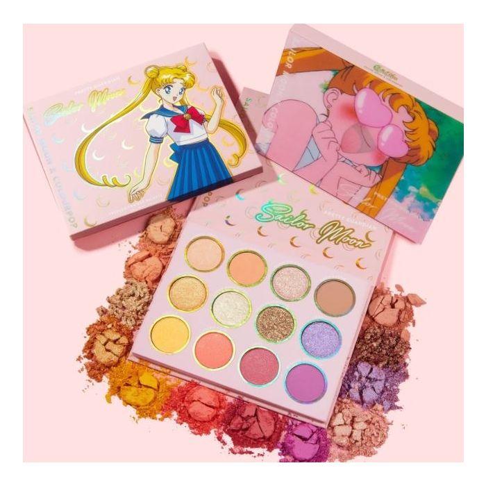 Colourpop - pretty guardian sailor moon eyeshadow palette