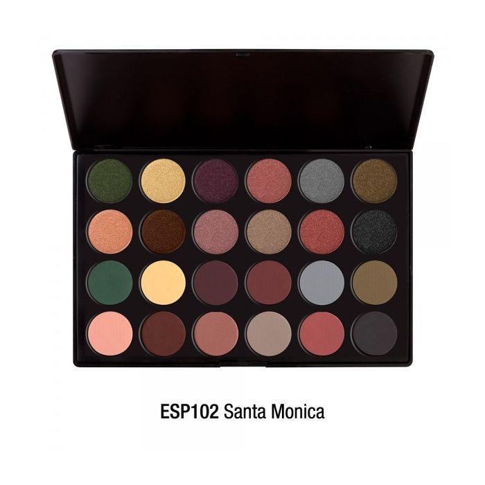 Jcat beauty - 24 Eyeshadow Palette - Santa Monica