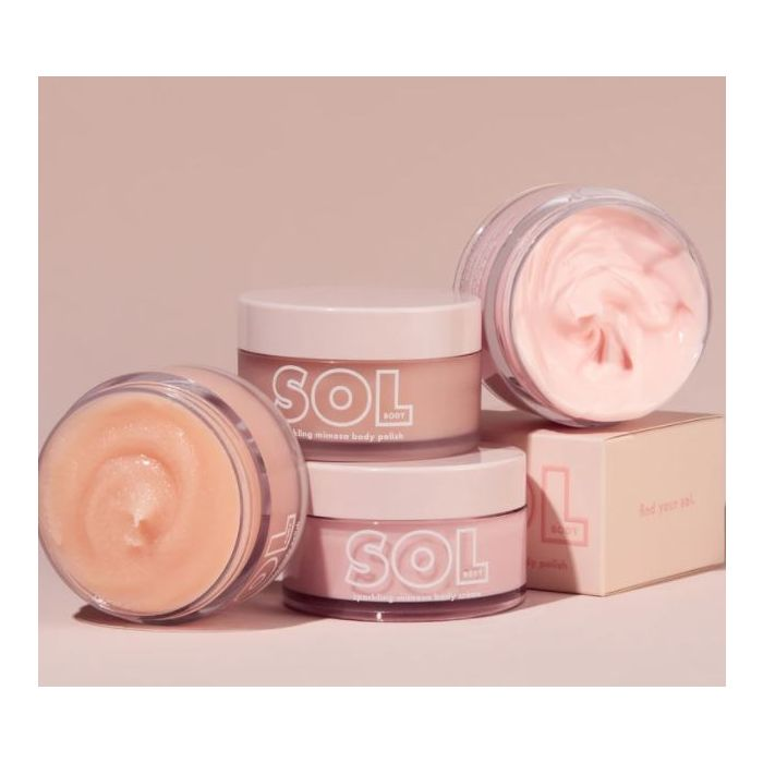 colourpop_more mimosa sol body scrub & crème set