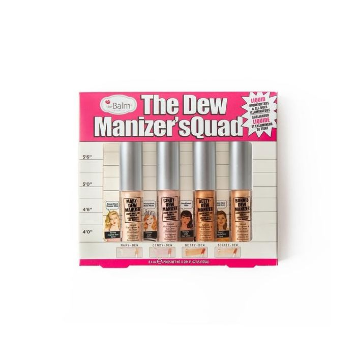 thebalm - THE DEW MANIZER'SQUAD Mini Liquid Highlighters