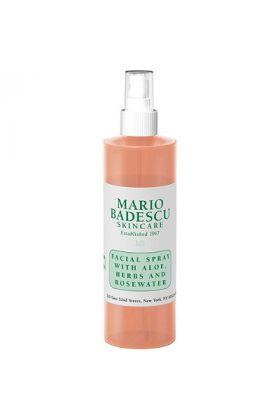 Mario Badescu Facial Spray with Aloe, Herbs & Rosewater - 4oz