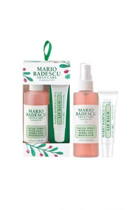 Mario Badescu - ROSEWATER FACIAL SPRAY & LIP BALM ORNAMENT