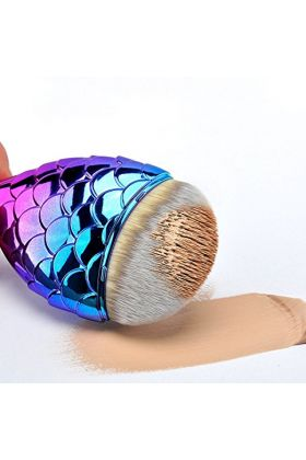 Girliestuffs - Mermaid Tail brush - Multicolor