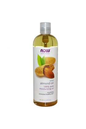 Now Foods, Solutions - Sweet Almond Oil - 16 fl oz (473 ml)