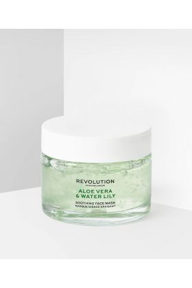 REVOLUTION SKINCARE ALOE VERA AND WATER LILY SOOTHING FACE MASK