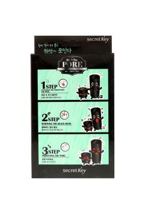 SECRET KEY Black Out Pore 3-Step Nose Pack