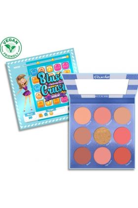 RUDE-Blush Crush 9 Color Blush Palette - Level Up