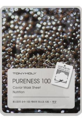 TONYMOLY Pureness 100 Caviar Mask Sheet Nutrition