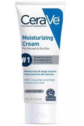 CeraVe- Moisturizing Cream For Normal To Dry Skin - 8 fl oz