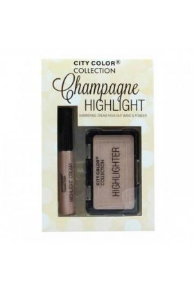CITY COLOR Collection Champagne Highlight Set