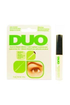 DUO Brush On Striplash Adhesive - White / Clear