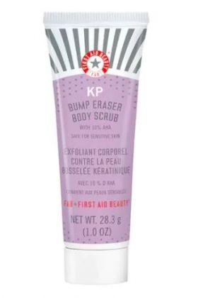 First Aid Beauty KP Bump Eraser Body Scrub travel size - 2 oz