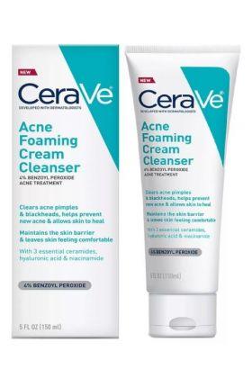 CeraVe - Acne Foaming Cream Cleanser(5fl oz)