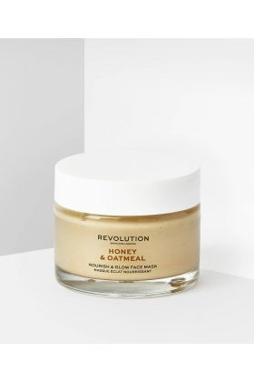 REVOLUTION SKINCARE - HONEY AND OATMEAL NOURISH AND GLOW FACE MASK