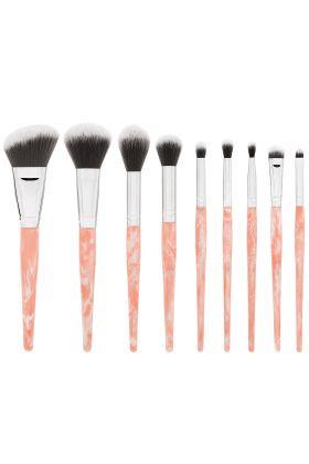 Bh Cosmetics - Rose Quartz - 9 Piece Brush Set