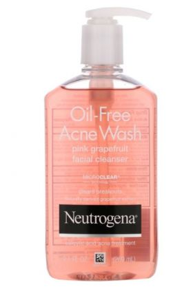 Neutrogena - Pink Grapefruit Acne Face Wash & Cleanser