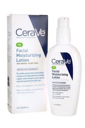 CeraVe - PM Facial Moisturizing Lotion 3 floz
