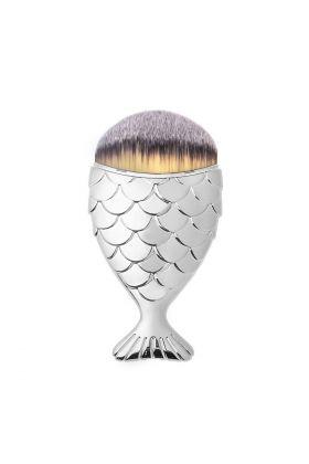 Girliestuffs - Mermaid Tail brush - Silver