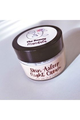 The beauty mandala -Skin Asleep night Cream 30g