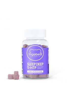 Sugarbear - Sleep Deep 5‑ HTP Vitamin Gummies - 1 Month