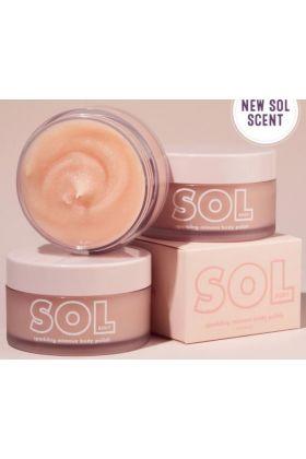 Colourpop -sparkling mimosa sol body scrub