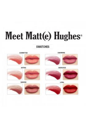 theBalm Meet Matte Hughes Set of 6 Mini Long-Lasting Liquid Lipsticks