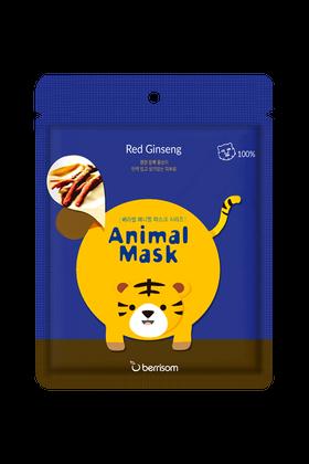 Berrisom: Animal Mask - Red Ginseng  - Tiger Mask