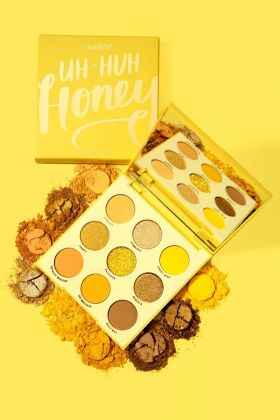 Colourpop-Uh Huh Honey Yellow Shadow Palette