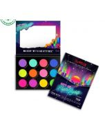 Rude Cosmetics -City of Pastel Lights - 12 Pastel Pigment & Eyeshadow Palette
